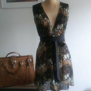 Lotus Wrap Dress